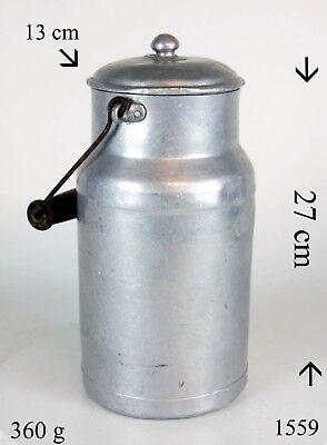 100% Wahr Aluminium Pu Fabrique En France Melkeimer Milchkanne Vintage Bauer Antiquitäten & Kunst