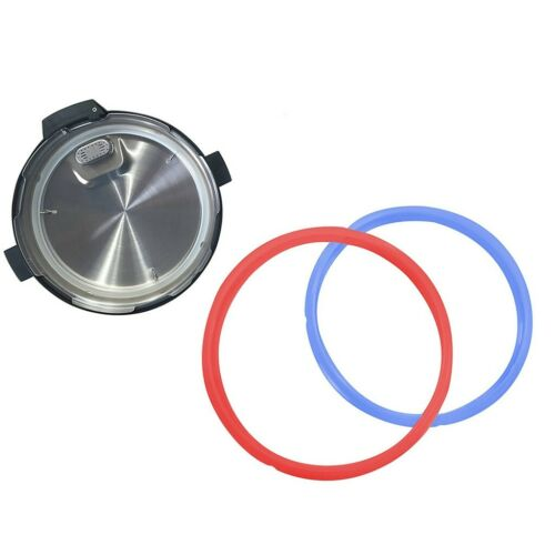 2pcs Home Silicone Rubber Pressure Cooker Seal Ring Gasket Replacement Useful UK