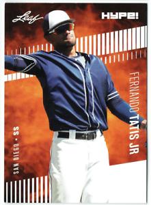 Fernando Tatis Jr. 2018 Leaf HYPE! #17 Baseball 25 Rookie Card Lot S.D. Padres