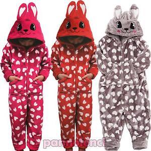Pijama-nina-nino-conejo-todo-piel-sintetica-kugurumi-nuevo-C603