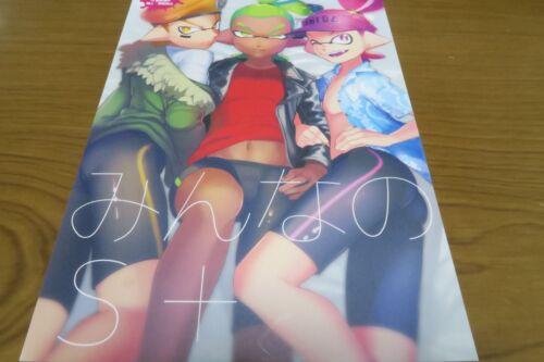 e+ Minnano S+ Doujinshi Splatoon S uke anthology A5 100pages