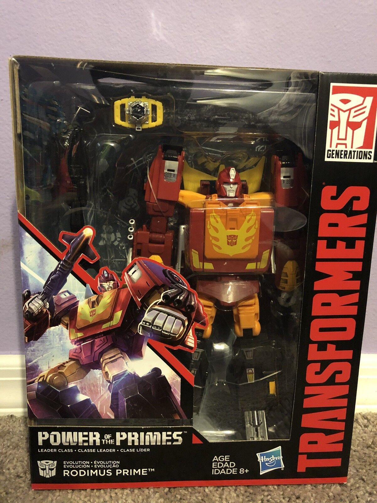 Transformers  Generations energia of the Primes Leader Evolution Rodimus Prime