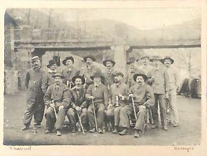 Mines de Trelys sainte barbe Gard Charbon mine puits vers 1906 mineurs