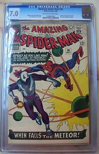 AMAZING-SPIDER-MAN-36-CGC-7-0-1ST-APPEARANCE-LOOTER-MARVEL-1966-STEVE-DITKO-LEE