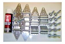 12x7 or 10x7 Brackets Garage Door Hardware Kit Rollers Hinges