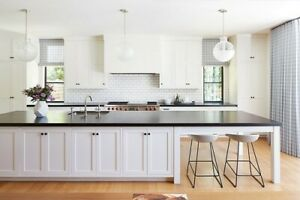 10ft White Kitchen Island Without Counter Top Made In Us Ebay