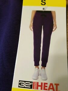 NWT-32-Degree-Size-Small-Women-039-s-Comfortable-ATHLETIC-WARM-UP-PANTS-Free-Ship