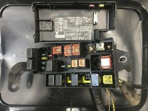 details about 98 99 1998 1999 subaru forester fuse box under hood 1999 Subaru Forester Green