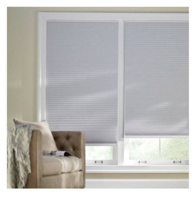 Shadow White 9 16 In Blackout Cordless Cellular Shade 29 In W X 48 In L For Sale Ebay