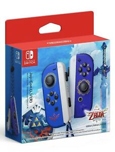 New Limited Edition Legend Of Zelda Style Nintendo Switch Joy-Con L/R - Preorder