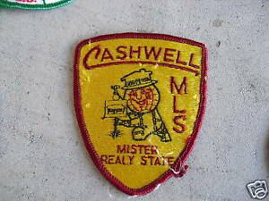VINTAGE-Uniform-Patch-Cashwell-MLS-Mister-Realy-State