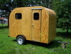 Teardrop Camper Trailer Plans 5x10 Tear Drop Rv Camp 2 Ebay