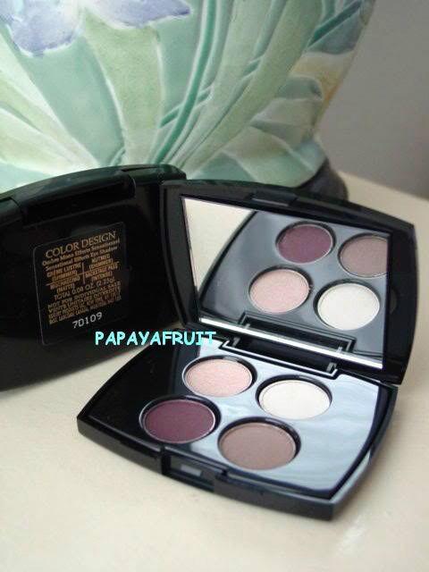 Lancome Color Design EyeShadow CREME LUSTRE NUTMEG MOCHACCINO BACKSTAGE PASS