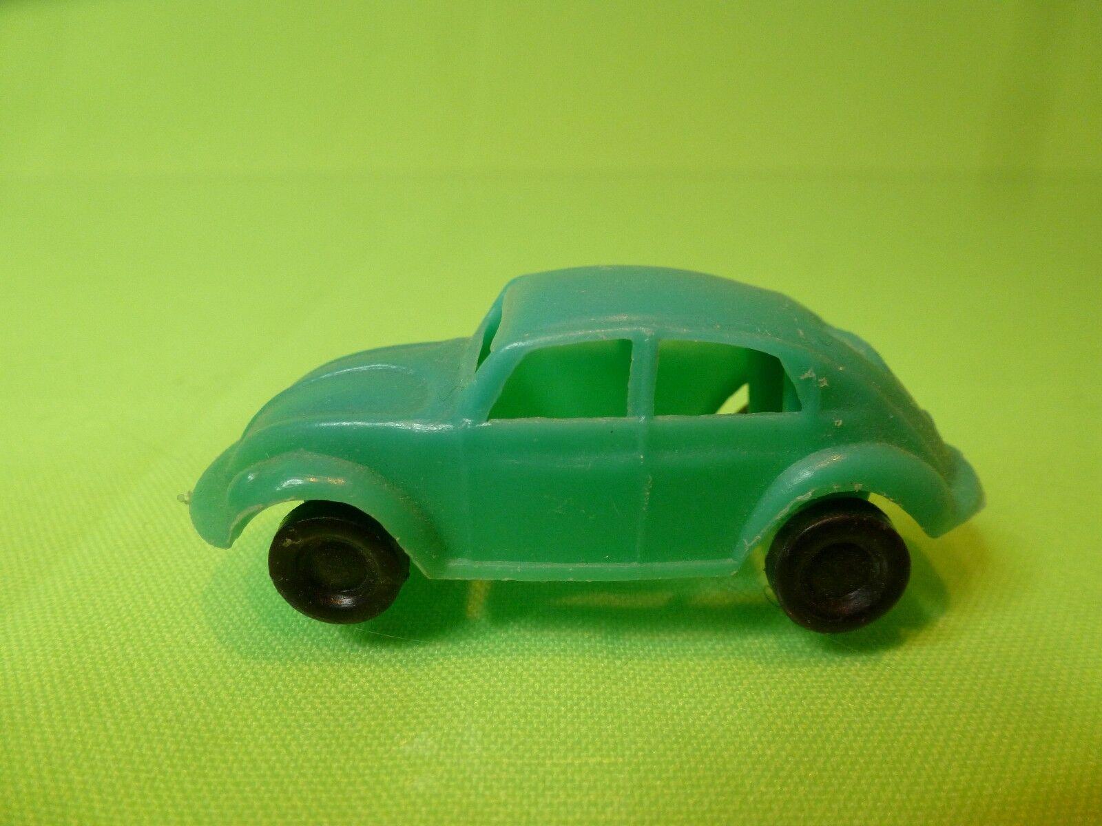 VINTAGE PLASTIC VW VOLKSWAGEN VOLKSWAGEN VOLKSWAGEN BEETLE BUG - verde L6.0cm - GOOD COND. HONG KONG . d8c175