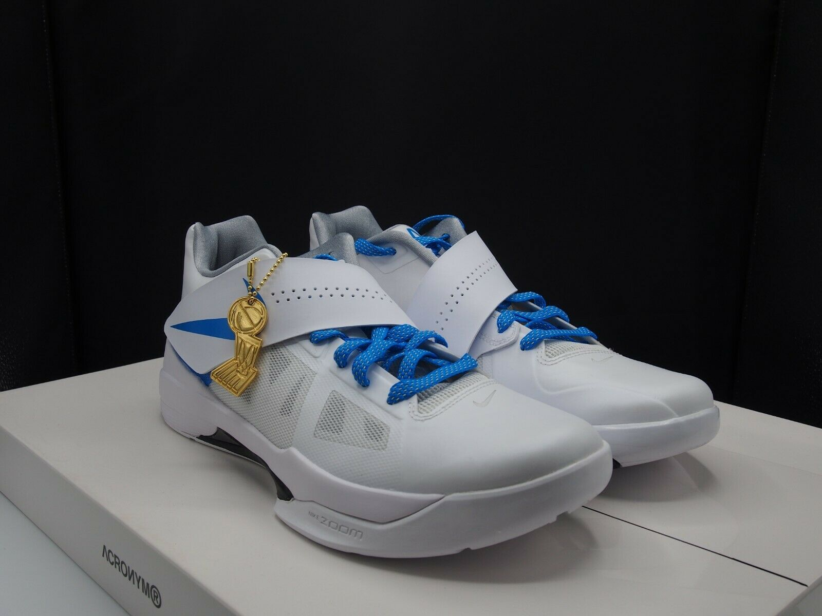 6f94dfa0e6 Nike KD IV QS AQ5103-100 Men's size 10.5 US CT16 Zoom ntifcr3057-Athletic  Shoes
