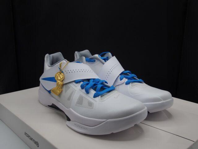23b3af84d5fa Nike Zoom KD 4 Ct16 QS Thunderstruck White Photo Blue Grey Aq5103 ...