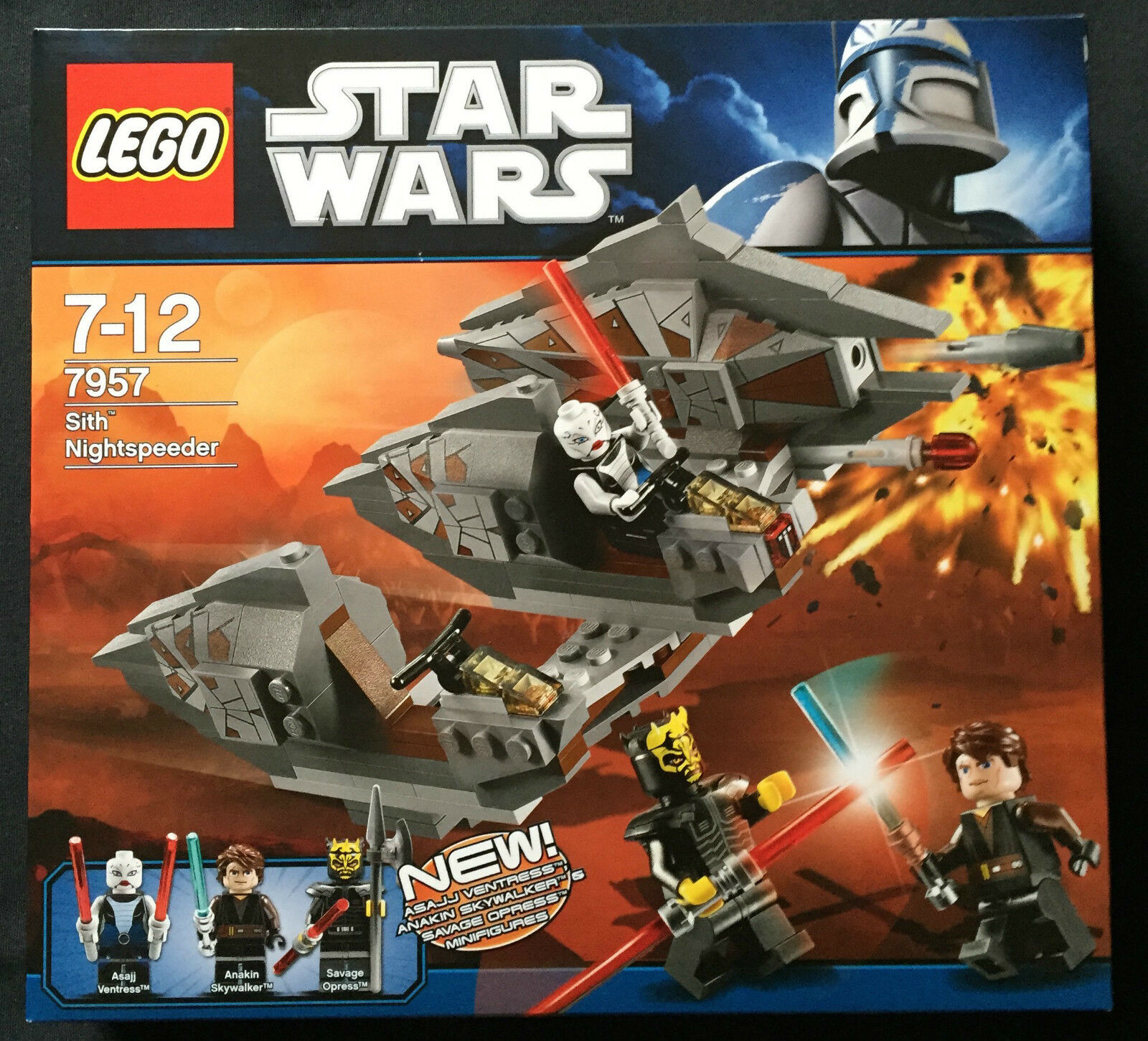 LEGO STAR WARS 7957 - SITH NIGHTSPEEDER  NUEVO SELLADO   NEW SEALED