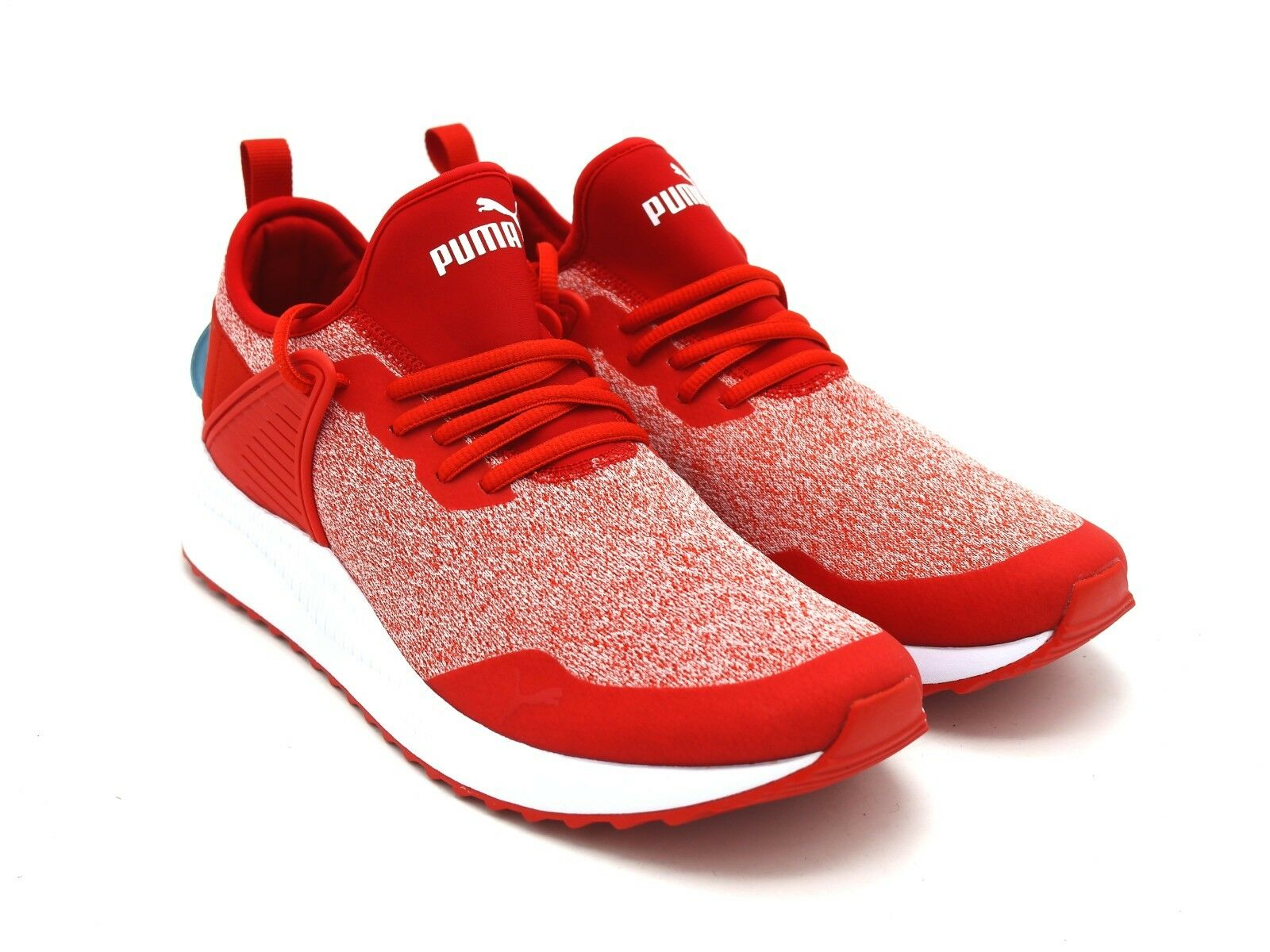 D2215 New Men's Puma Pacer Next Cage MultiKnit Red Athletic shoes 10 M