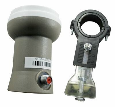 GEOSATpro SL1PLL Standard Phase Lock Loop Linear Ku LNB 10750 +Universal  Bracket | eBay