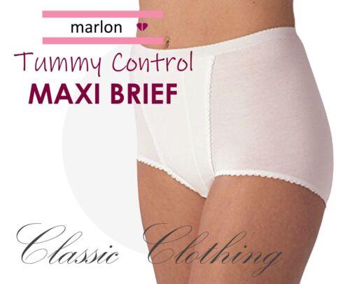 Marlon Tummy Control Maxi Brief Ladies Underwear