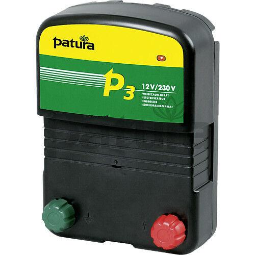 PATURA P3 Weidezaungerät 12//230 V NEU