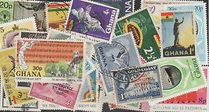 GHANA STAMP COLLECTION -- 75 DIFFERENT -- TOP QUALITY