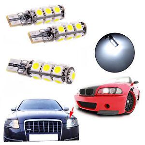 2-X-Bombillas-led-coche-T10-canbus-para-Bmw-E38-E39-no-dan-fallo