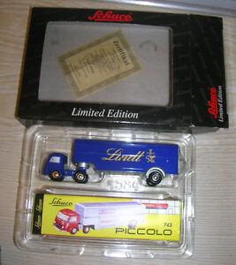 "Schuco Piccolo - Mercedes Benz Lkw "" LINDT Schokolade "" Limited Edition in Box"