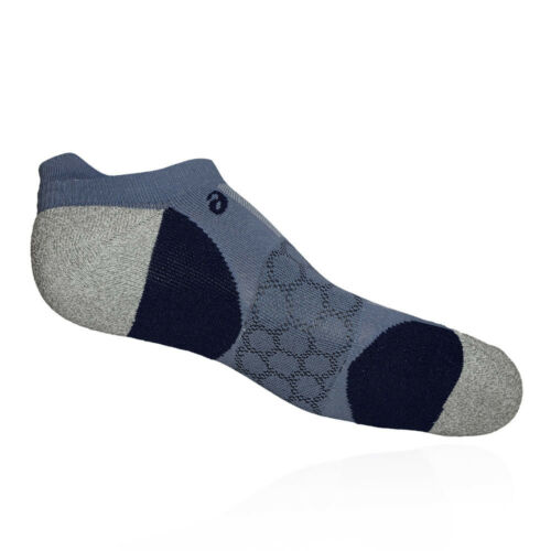 Asics Unisex Road Neutral Ped Single Tab Sock Grey Sports Running Breathable