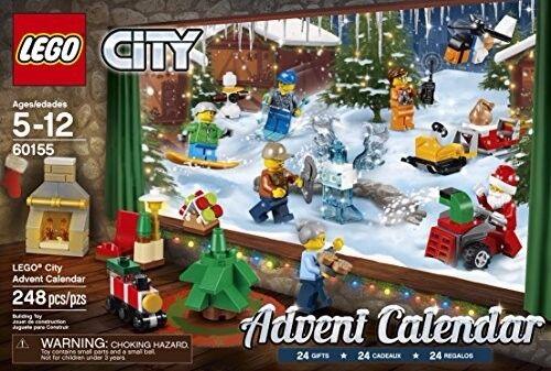 Lego City Calendario De Adviento Navidad 2017 60155