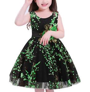 Caricamento dell immagine in corso Vestito-Bambina-Abito-Cerimonia-Fiori- Girl-Summer-Princess- d2609c2a334