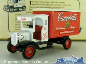 Dennis Truck Lorry Van Model Campbell's Soup 1:64 Scale Approx Lledo Days Gone K Marchandises De Proximité