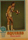 1973 - 1974 Topps Mike Barr #198 Basketball Card