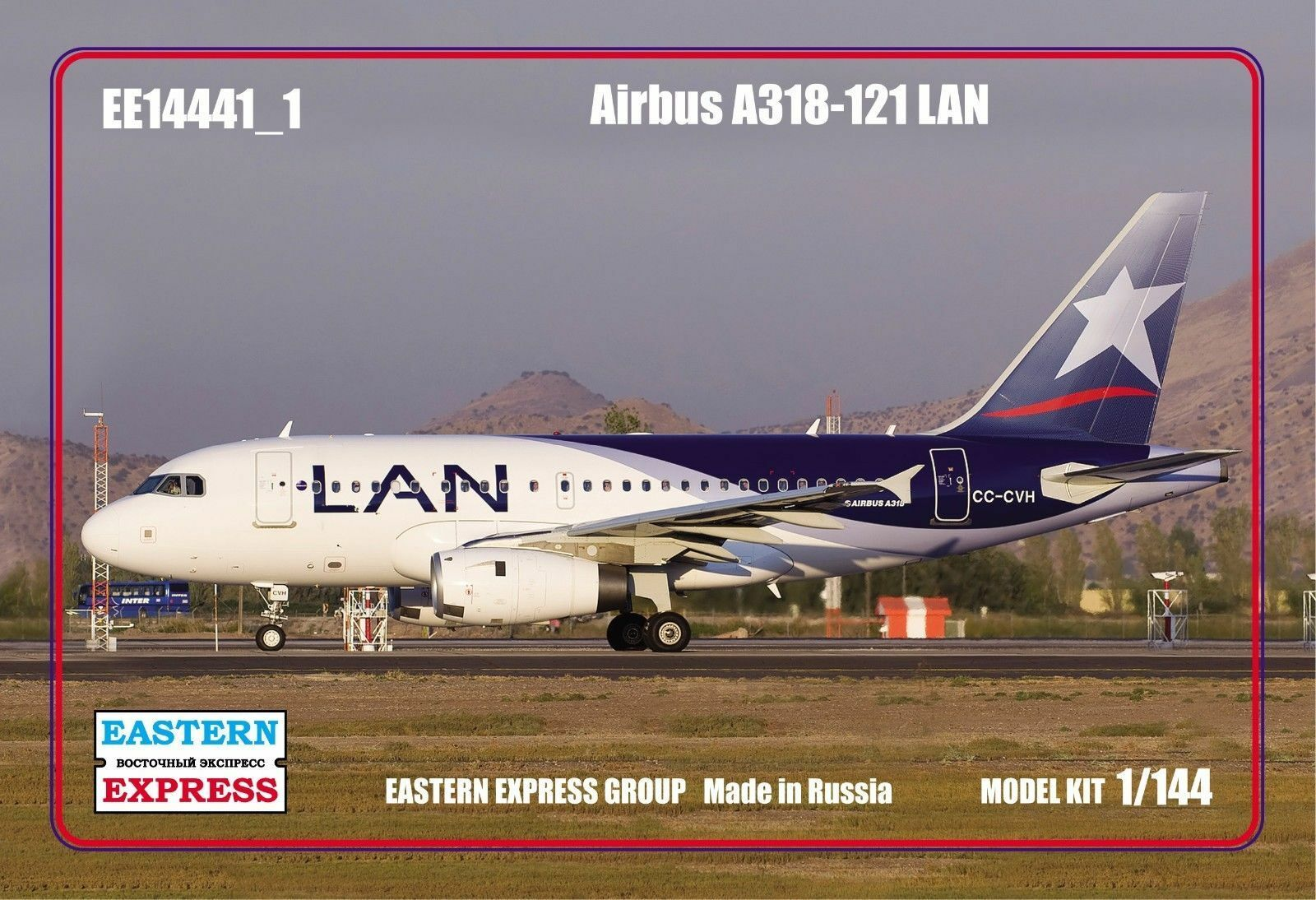 Eastern Express 1 144 Airliner A318-121 LAN Airlines EE14441_1
