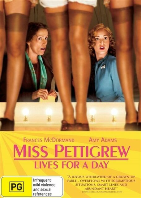 Miss Pettigrew Lives For A Day (DVD, 2013)