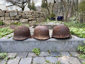Bodenfunde Militaria Alte Stahlhelme