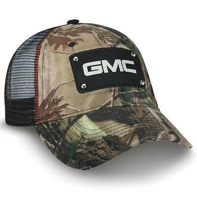 GMC TRUCK LOGO TWILL//MESH VALUE CAP SILVER BLACK NEW HAT