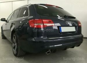 Difusor Trasero Apto para Audi A6 C6 4F Facelift Difusor ( Avant Y Sedán