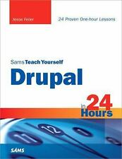 Sams Teach Yourself Drupal in 24 Hours-ExLibrary