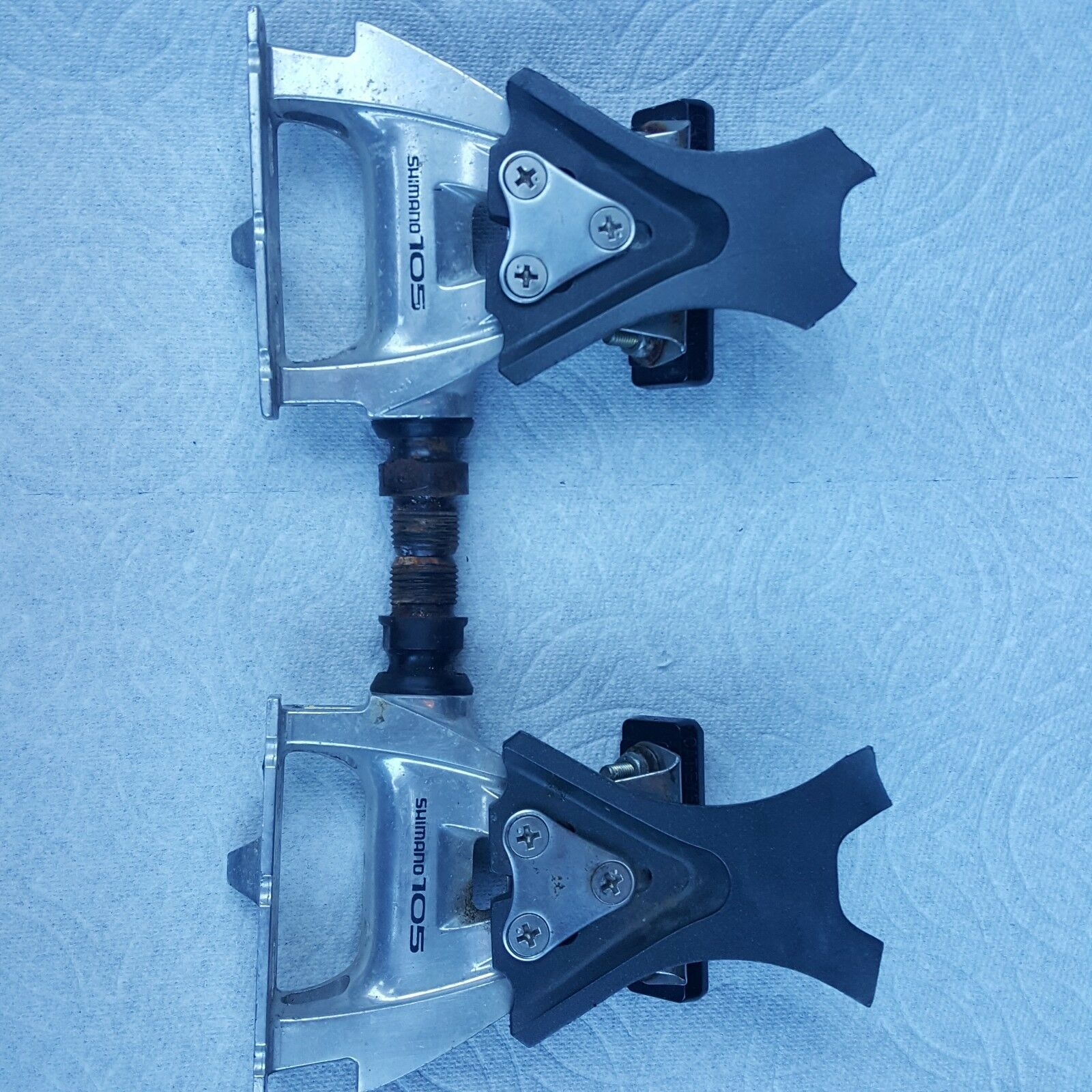 NOS Shimano 105SC (PD-1055) Clip-Style Pedals...Early 90's Model