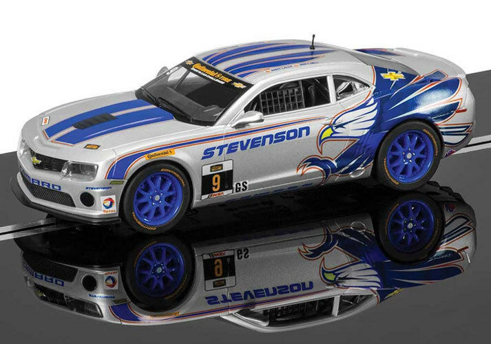 Scalextric Chevrolet Camaro Gt-R Stevenson Motorsport Schlitz Auto 1 32 C3596