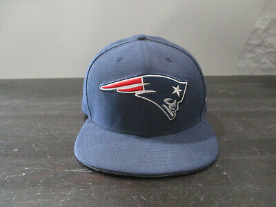 New Era New England Patriots Fitted Size 7 1//2 On Field Throwback Logo Hat Cap Navy Blue