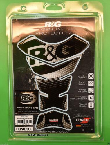 R/&G RACING TRANSPARENT  TANK PAD Kawasaki ZX6 R 2010