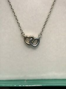 fe6096966 Authentic Pandora Sterling Silver & 14k Gold United in Love Necklace ...