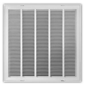 24x24-in-White-Return-Air-Vent-Filter-Grille-Sidewall-Ceiling-Steel-Max-Airflow