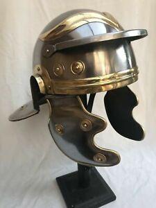 Armor Zenturio Römische Mittelalterlich Helm mit Plume Rot Farbe Adult Größe