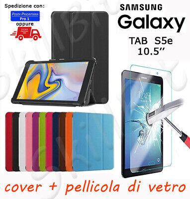 Custodia per Samsung Galaxy Tab S Pennino T800 - Blu 10.5/'/' Pellicola