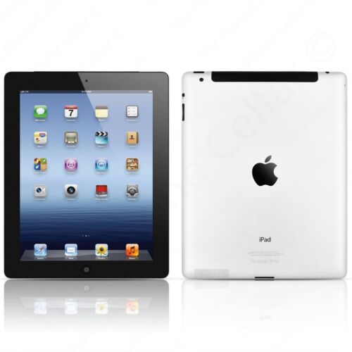 Retina 32GB 9.7in AT/&T A1430 Cellular Black Wi-Fi Apple iPad 3rd Gen