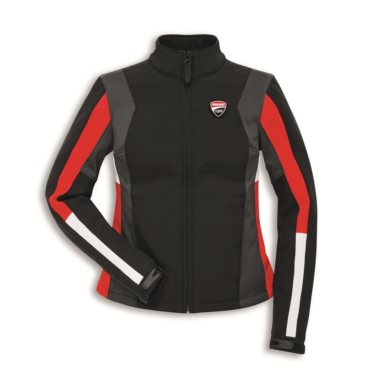 Ducati Corse Jacket Softshell Windproof 3 Damen Spidi NEUE Freizeitjacke