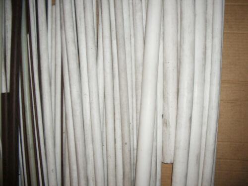 "pure PTFE rod sizes .25/"" to 1.625/"" per foot /""Teflon/"""